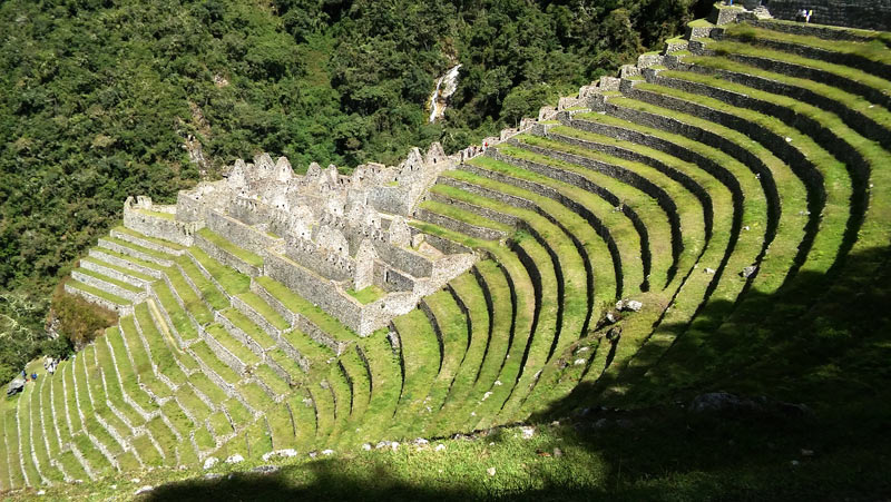 Winay Wayna was likely an Inca scientific site, where they experimented with and created new crops to feed the empire.